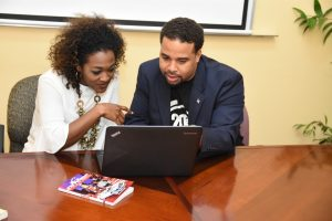 Film Commissioner at Jamaica Promotions Corporation Renée Robinson and USA DirectorProducer at 2020 Visions Entertainment Group Joshua Coates