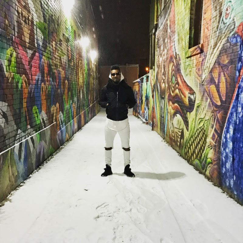 Genre Fluid, Billboard charting K'Coneil at the infamous graffiti wall in Toronto