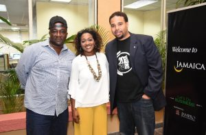 So Enticing' Jamaican author Colin Don Rose; Film Commissioner at Jamaica Promotions Corporation