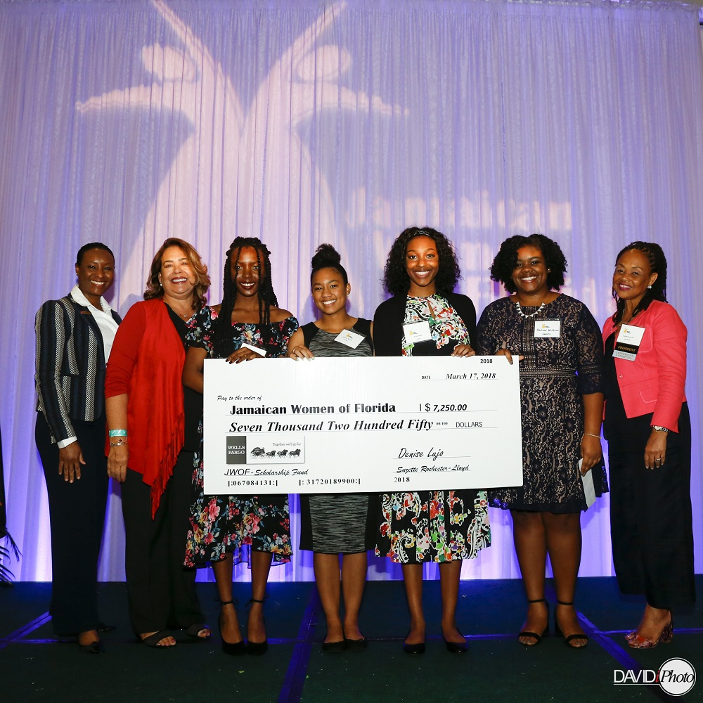 Jamaican Women of Florida 2018 Conference Inspire Future Leaders - 5 Scholarships Awarded