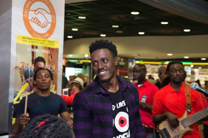 Team Jamaica Bickle Launches Penn Relays 2018 Activities Announces Romain Virgo As Ambassador