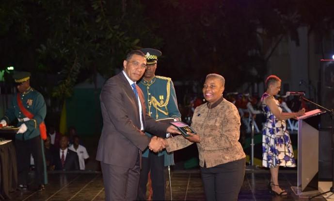 Jamaica Nurses Of Florida jnaf Receives Pm Medal Of Appreciation Award