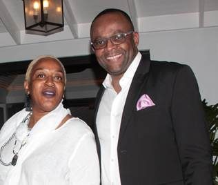 Jamaica's Director Of Tourism Donovan White Hosts Welcome Dinner For AFUWI Bob Marley Awardee Actress CCH Pounder 1