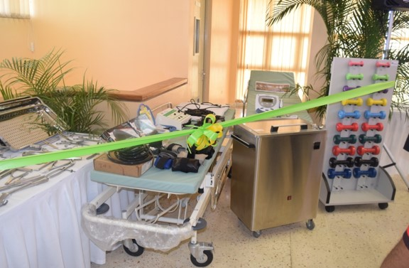 May Pen Hospital Receives Essential Equipment Valued at US $80, 000.00 2
