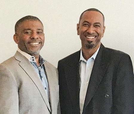 Eddy Edwards, CEO Riddim Marketing and Xavier Murphy, Founder Jamaicans.com