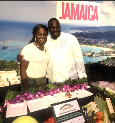 Jamaica Tourist Board & Palace Resorts Served Up A Taste of Jamaica At Citi Taste Of Tennis 1