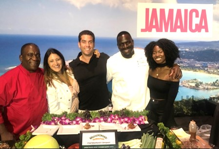Jamaica Tourist Board & Palace Resorts Served Up A Taste of Jamaica At Citi Taste Of Tennis 3
