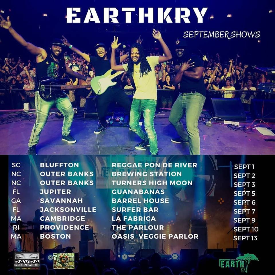 Memorable Performance at Rototom Festival, Australia Next for Self-Contained Reggae Band EarthKry