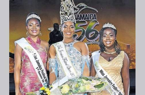 Miss St. Mary is Miss Jamaica Festival Queen 2018