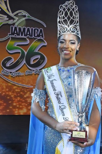 Miss St. Mary is Miss Jamaica Festival Queen 2018 1