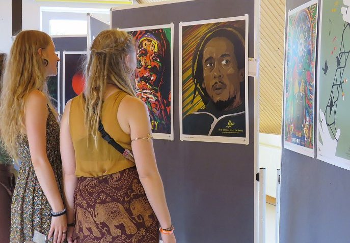 The 22nd Art of Reggae Exhibition at Reggae Jam Festival, Germany 5