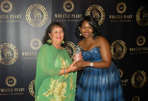 Diana Mcintyre-Pike Receives Global Tourism Award From Wheatle Peart Global Branding Organization