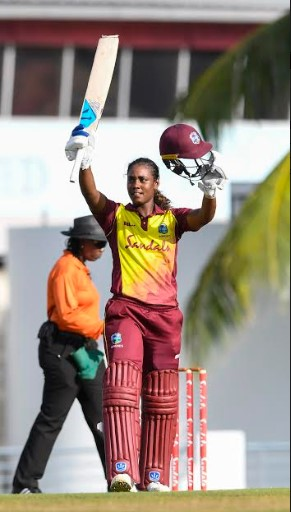 Matthews' maiden hundred earns WINDIES Women shared series - 3rd IWC ODI 1