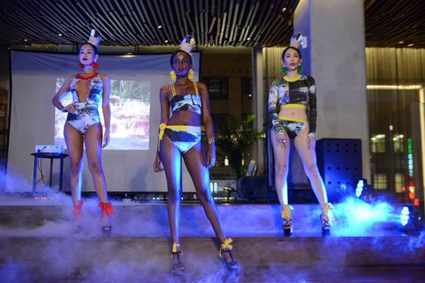Jamaican-Born Designer Draws Inspiration from Home for D'Marsh Fi Jamaica Collectionm 1
