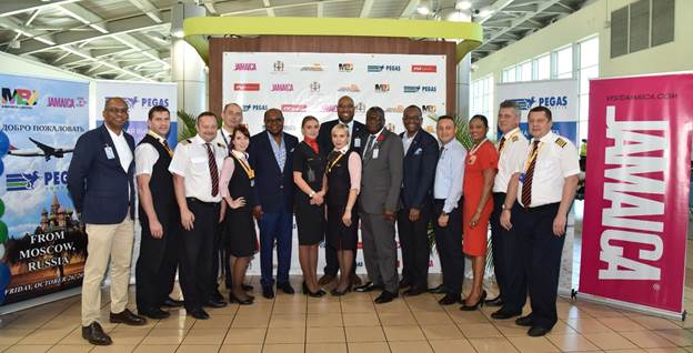Jamaica Welcomes New Nonstop Service from Moscow to Montego Bay 1