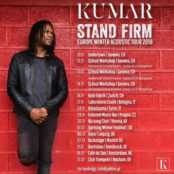 Kumar Releases Single It's Alright December 7th on VP Records 2