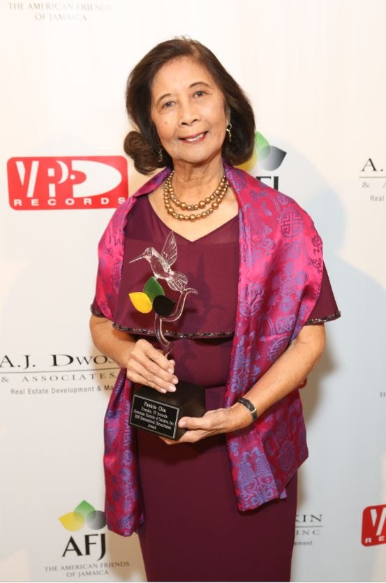 Patricia Chin Honored at American Friends of Jamaica Humming Bird Gala 1