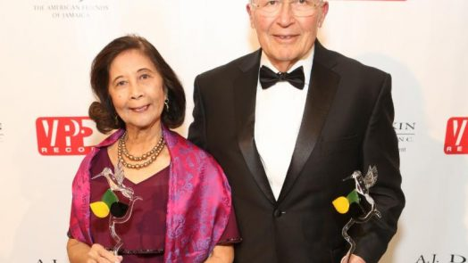 Patricia Chin Honored at American Friends of Jamaica Humming Bird Gala 2