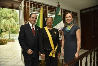 The highest Mexican Order conferred to Former Ambassador of Jamaica to Mexico