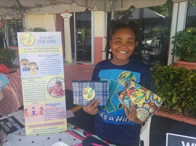 9 year old Jamaican to launch kits to keep children clean and healthy 2
