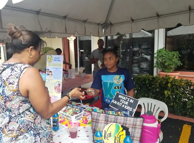 9 year old Jamaican to launch kits to keep children clean and healthy 3