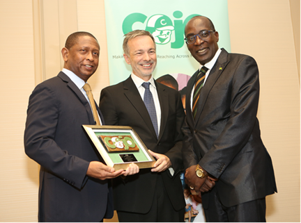 Jamaica's Education Minister Senator Ruel Reid Lauds COJO for Investing in the Nation's Future 1