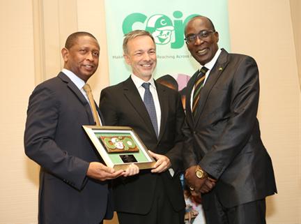 Jamaica's Education Minister Senator Ruel Reid Lauds COJO for Investing in the Nation's Future 1