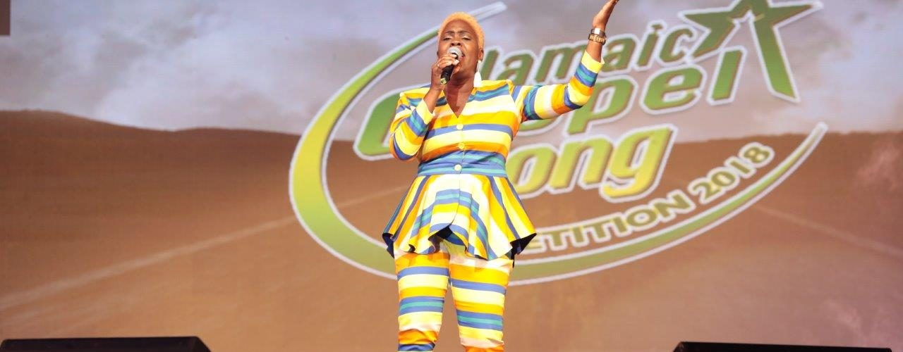 Daynea Deacon Jones Performing - Jamaica Gospel Song Audition Round Begins
