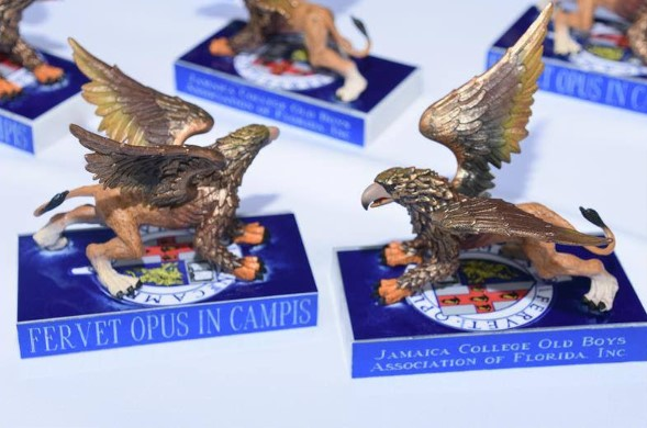 Jamaica College Old Boys Association of Florida establish 11 Annual Scholarships for JC students named in honor of Griffin Breakfast Award recipients 1