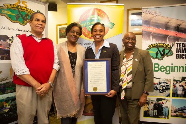 Special Recognition For Reggae Girl Nicole Mcclure At Bickle 25 Launch 2