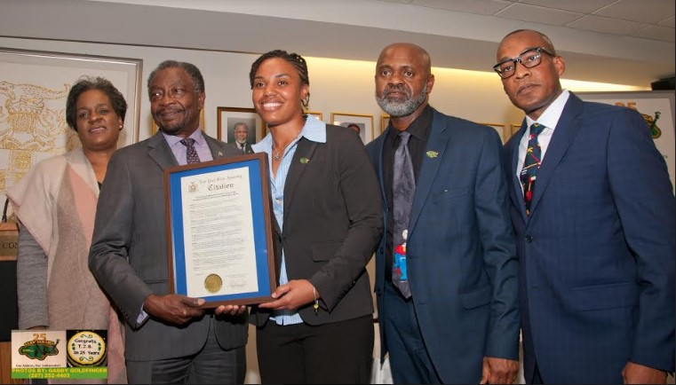 Special Recognition For Reggae Girl Nicole Mcclure At Bickle 25 Launch 3