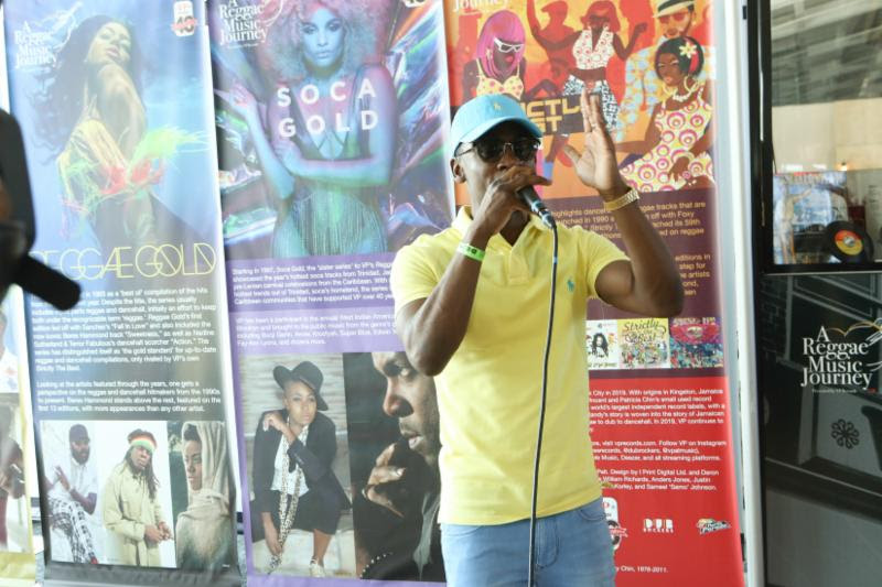 Christopher Martin And Raging Fyah Join Vp Records For The Unveiling Of A Reggae Music Journey At Sangster International Airport 2