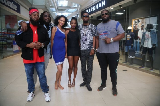 GRAMMY Winning Morgan Heritage and Nigerian Star Pantoranking Share Behind The Scenes from Pay Attention Upcoming Official Video 6