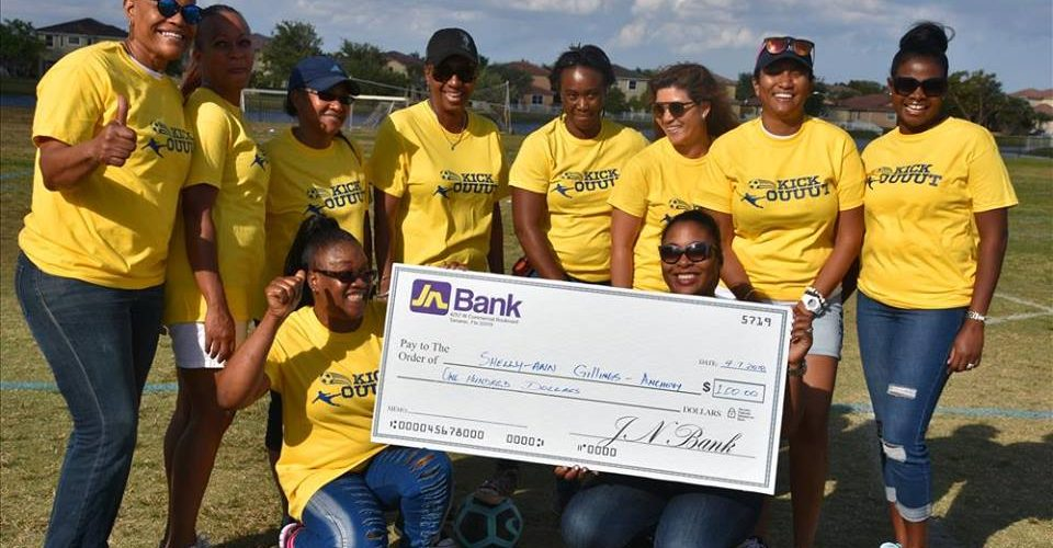 JN Bank sponsors 15th Annual Ziadie Cup True Blue Weekend All Alumni Penalty Kick-off April 5th-6th 2018 Miramar Florida