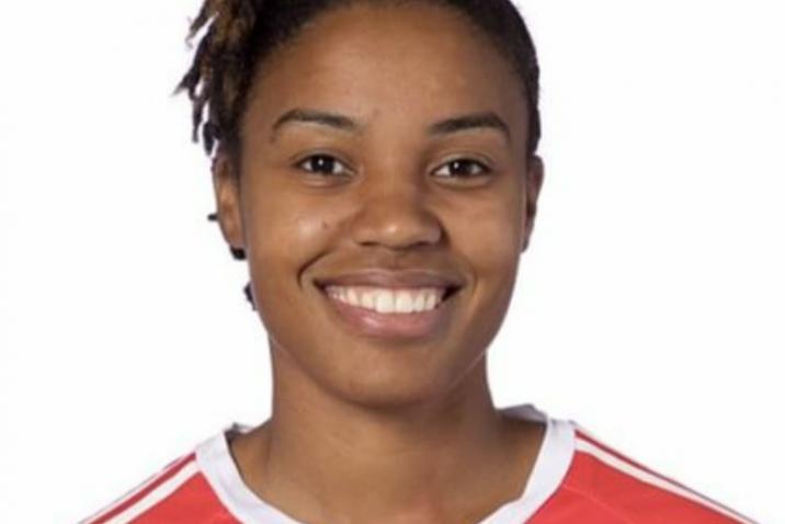 Jamaican Reggae Girlz Goalkeeper Nicole McClure