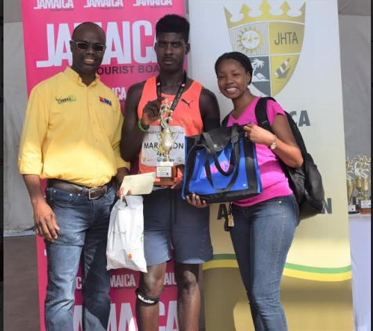 USA-Based Female And Jamaican Male Take Top Honors In Inaugural Kingston Coty Marathon 2