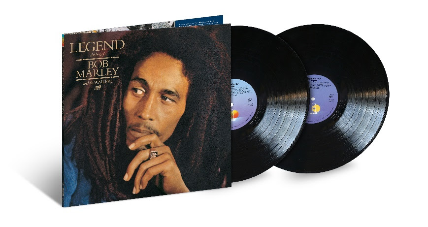 Bob Marley's LEGEND Turns 35 Special 2LP 180-Gram Vinyl Reissue To Be Released On June 14