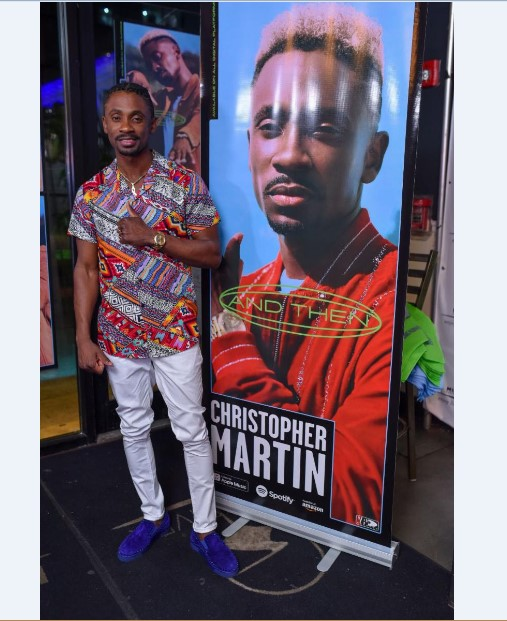 Christopher Martin's Album, And Then, Debuts At Number One On The Billboard Reggae Chart 3