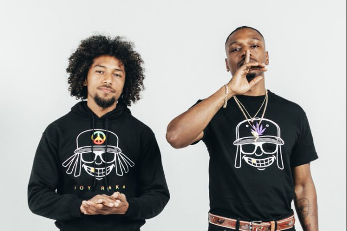 "Grammy Nominated Duo Los Rakas Release Their Highly Anticipated New Album ""Manes De Negocio"