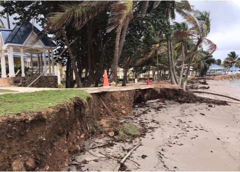 Trinidad and Tobago's Ministry of Works and Transport, Coastal Protection Unit Initiates Programme To Combat The Ravages Of Coastal Erosion And Flooding 3