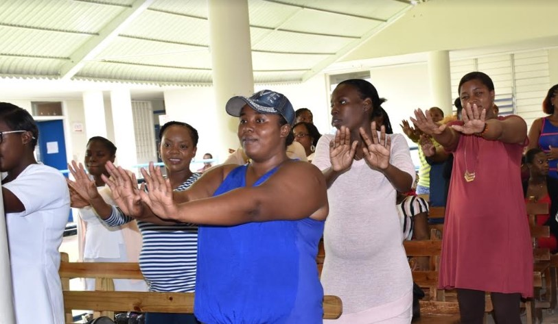 Health Fair Empowering Pregnant Women in Central Jamaica 1
