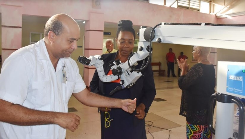 Increased Ear, Nose & Throat Services in Central Jamaica 1