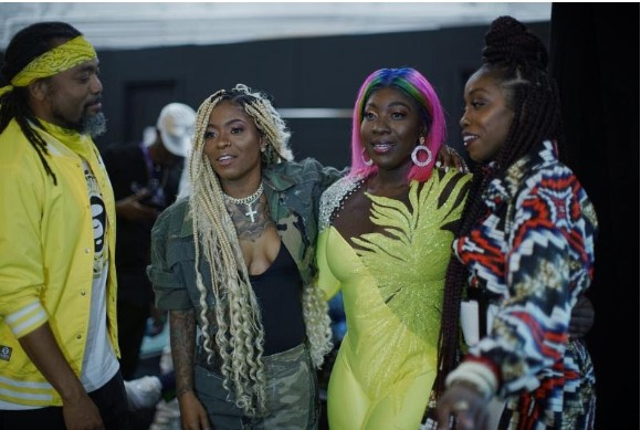 Estelle Curates Successful Evening of Afro-Beats, Reggae, Dancehall and Soca For the 2019 Essence Music Festival 3