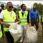 Jah Cure Helps To Keep The Streets Of Kenya Clean 4