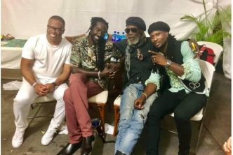 Omari Banks Mesmerized Record Breaking Crowd with Electrifying St.Kitts Music Fest Performance 3