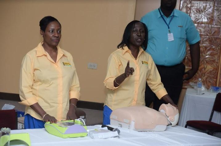 Schools In Western Jamaica Set To Receive Defibrillators! 2