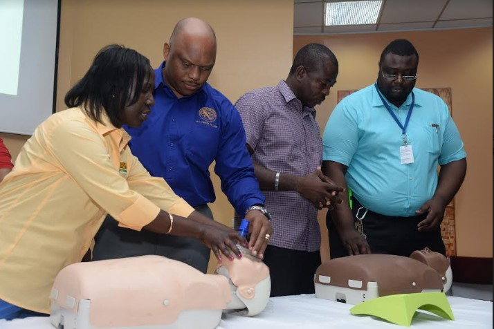 Schools In Western Jamaica Set To Receive Defibrillators! 3
