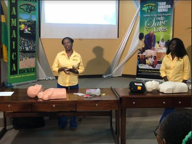 Team Jamaica Bickle Lauds Grace Kennedy & The S Hotel For Support In Latest Round Of Aed Presentation 1