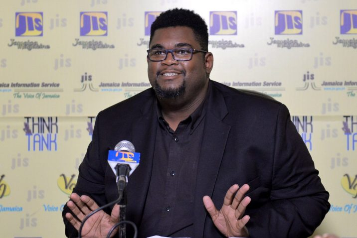 Director of Events and Production at the Jamaica Cultural Development Commission, Gregory Simms