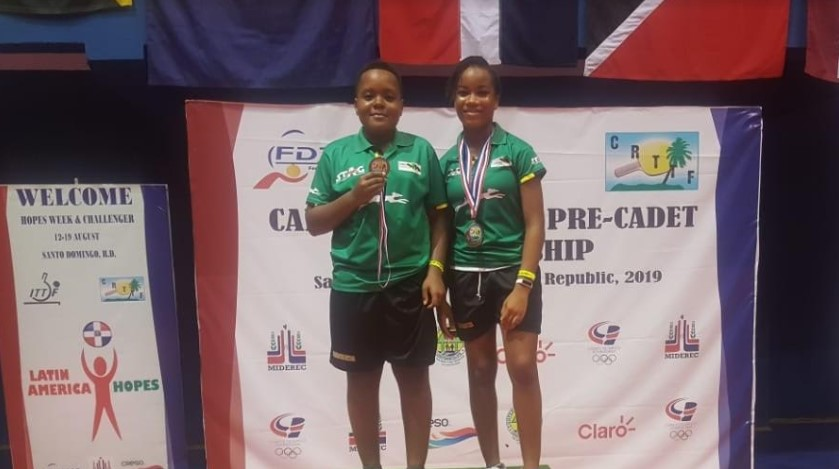 Jamaica takes 7 Bronze medals, places third in Caribbean Cadet Table Tennis Championships 3